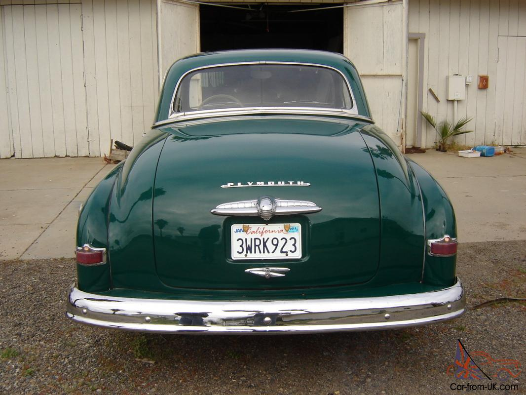 1950 Plymouth Buisness Coupe To 1955 Cars