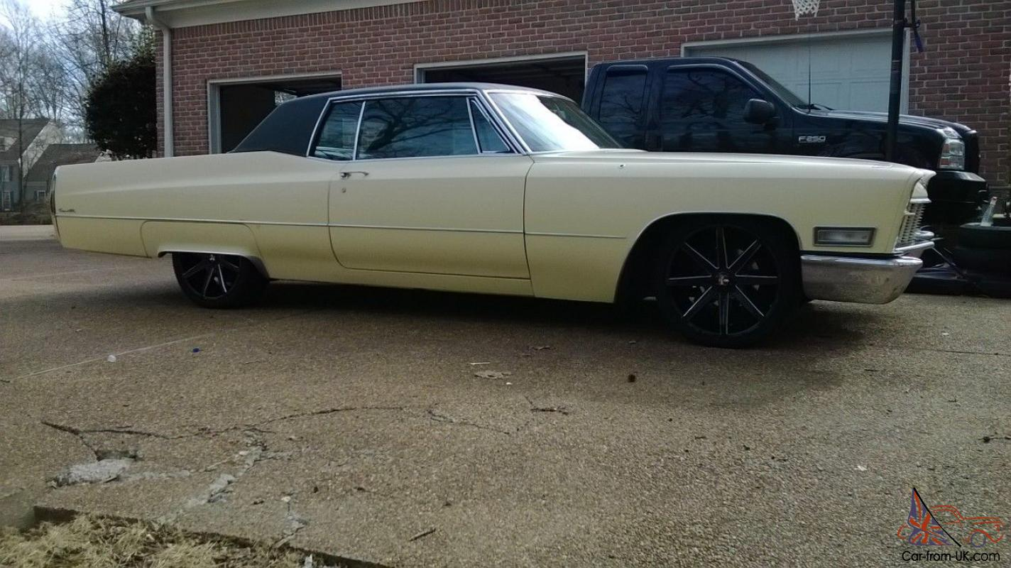 1968 Cadillac Coupe DeVille 2 Door Hardtop MINT CONDITION