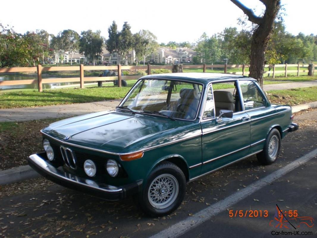 1974 bmw 2002tii no rust ca car sunroof and ac restored to. Black Bedroom Furniture Sets. Home Design Ideas
