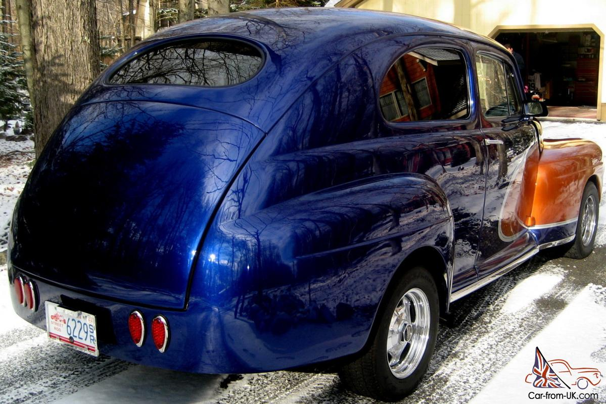 1948 Ford Coupe All Steel Street Rod Fresh Built 327 V 8 Ps Pdb Custom Paint Exc
