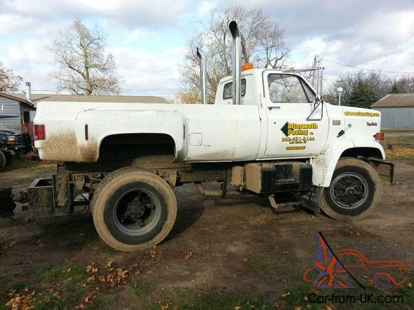 1982 GMC Topkick Pickup Caterpillar