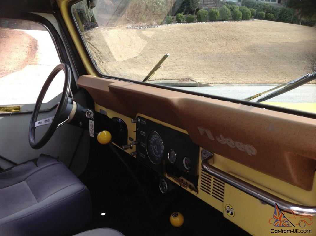 jeep cj7 clic with 1978 Jeep Cj 5 Levis Edition on Jeep Cj7 Wrangler in addition 12 Volt Wiring For Dummies further Cj2a Wiring Diagram 12 Volt besides Cleaning Rusty Suspension Parts likewise Thyristor Ac Motor Control Circuit.