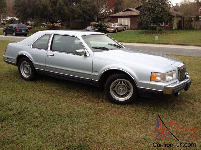 1989 Lincoln Mark Vii Lsc One Owner Extremely Low Mileage