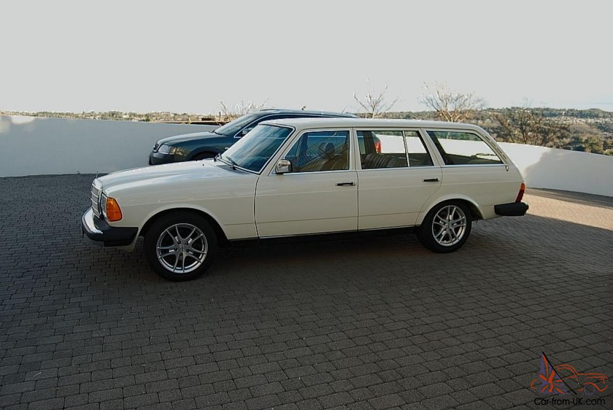 1980 mercedes benz 300td wagon gm 5 7 custom conversion no for Custom mercedes benz for sale