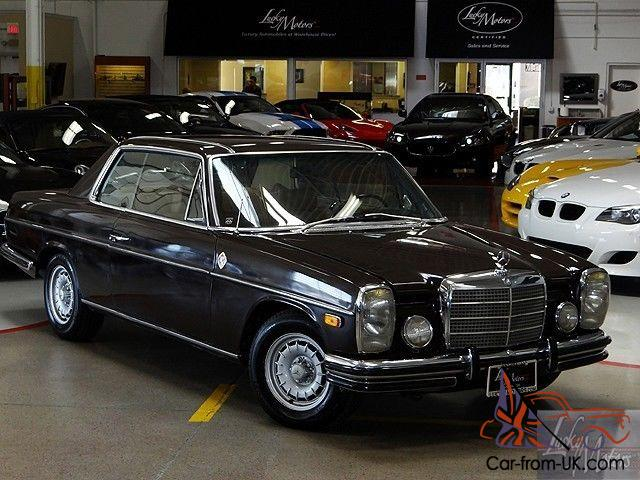 1972 mercedes benz 250s 2 door coupe for Mercedes benz 2 door coupe for sale
