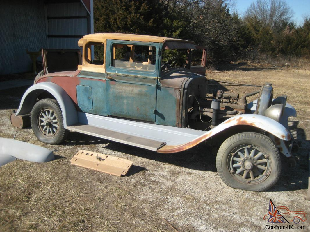 1928 REO - Flying Cloud Rumble Seat Coupe - For Parts or Restore ...
