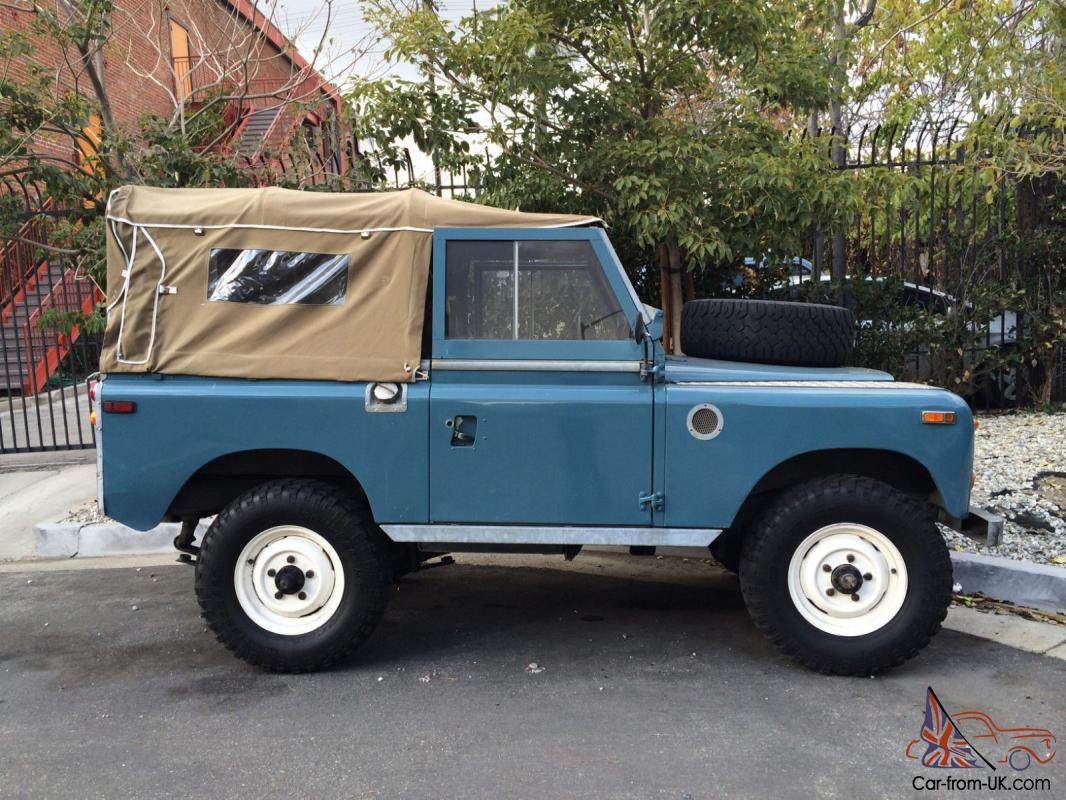 1971 Land Rover Series 2a 88 Wheel Base