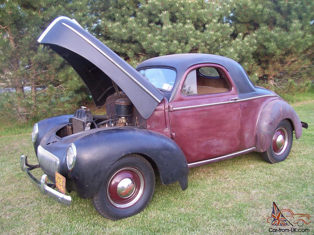 Original Paint 1941 Willys Coupe for sale