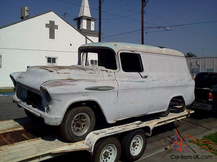 1956 panel trucks projects for autos post. Black Bedroom Furniture Sets. Home Design Ideas