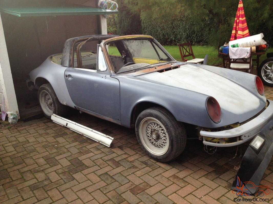 Porsche 911 Targa Restoration Project