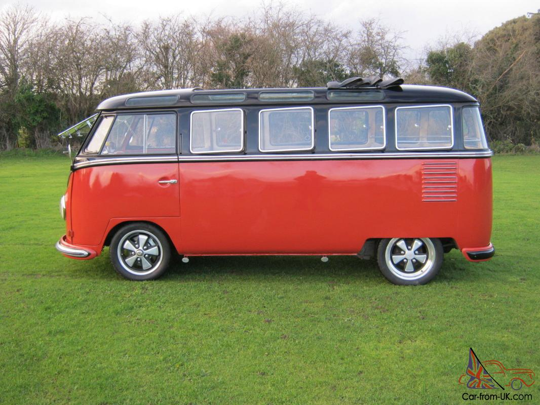 1957 vw 23 window samba bus yes the real thing and the. Black Bedroom Furniture Sets. Home Design Ideas