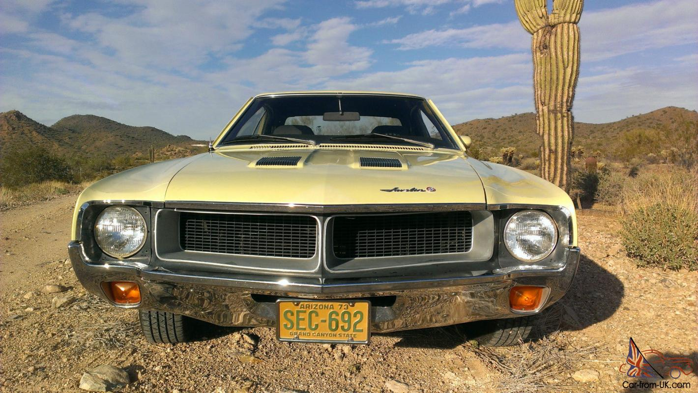 1970 Amc Javelin V8 3 Speed Manual Not Camero Or Mustang