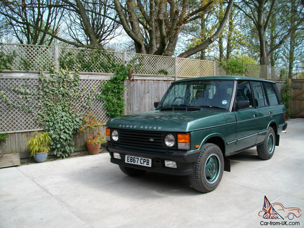 Range Rover Used For Sale >> RANGE ROVER CLASSIC VOGUE SE