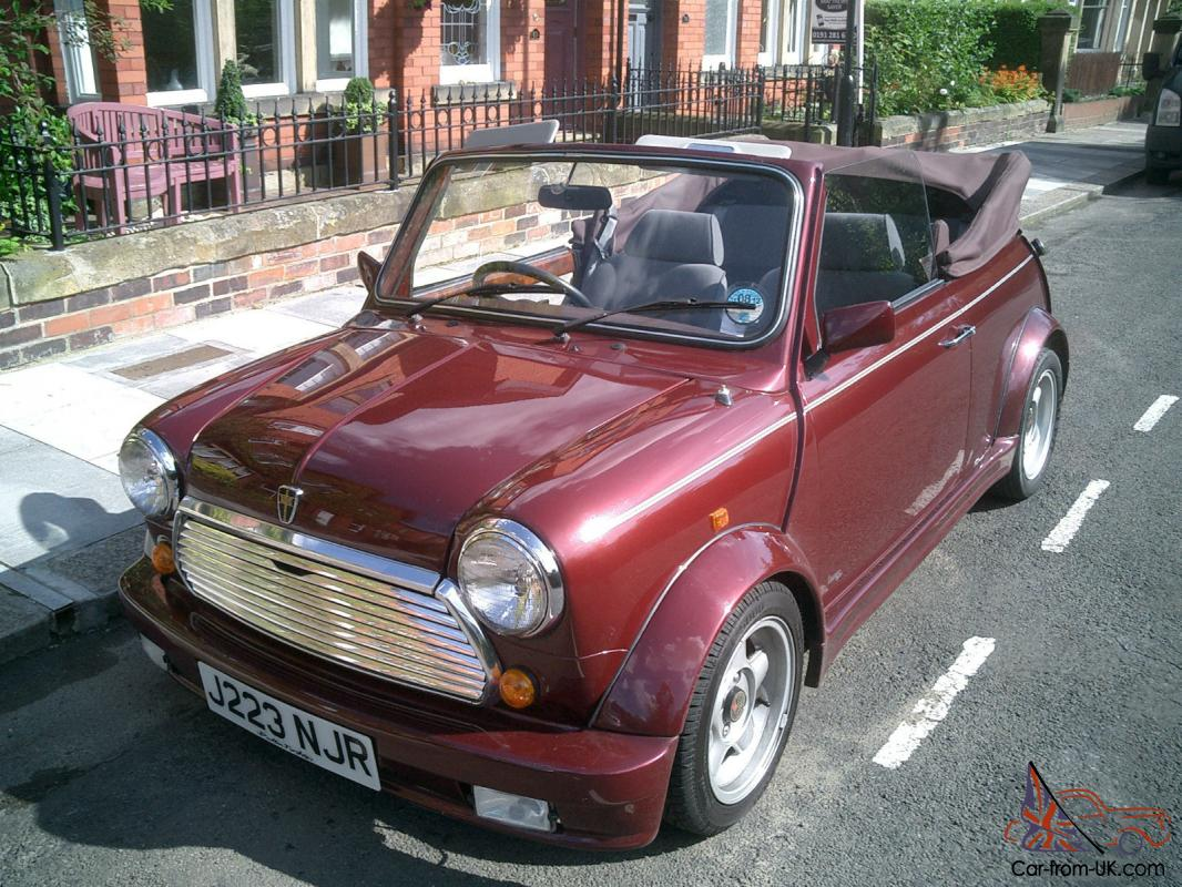 classic rover mini convertible 1 of only 75 made. Black Bedroom Furniture Sets. Home Design Ideas