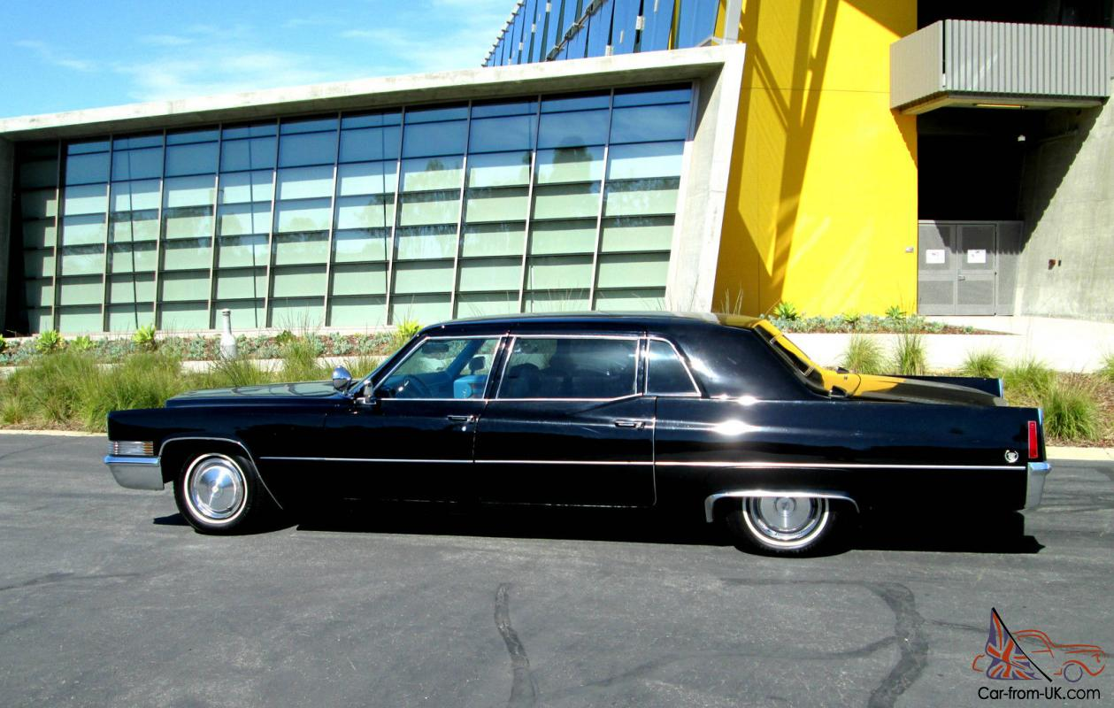 1970 cadillac fleetwood series 75 non division limo family for Motor mile auto sales