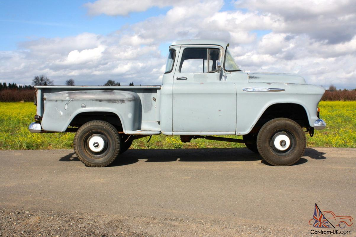 1957 Chevy Napco 4x4 For Sale | newhairstylesformen2014.com