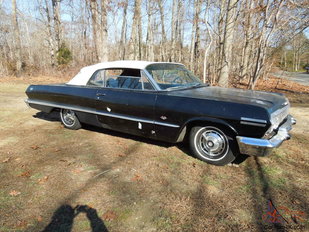 1963 Impala SS Convertible Project