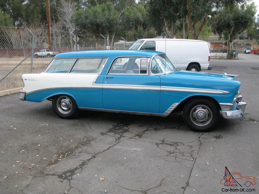1955 Chevrolet Nomad Unrestored Project Car For Sale: 55 Chevy Nomad Unrestored For Sale