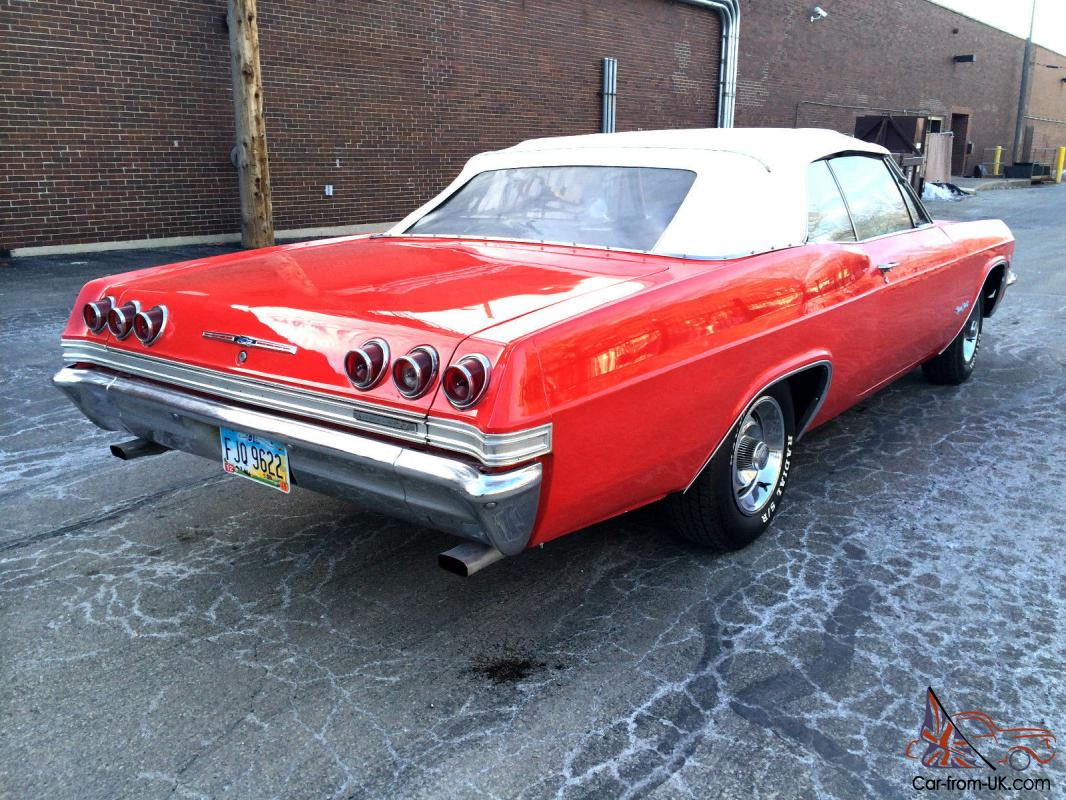 1965 chevy impala ss cheap used cars for sale by autos weblog. Black Bedroom Furniture Sets. Home Design Ideas