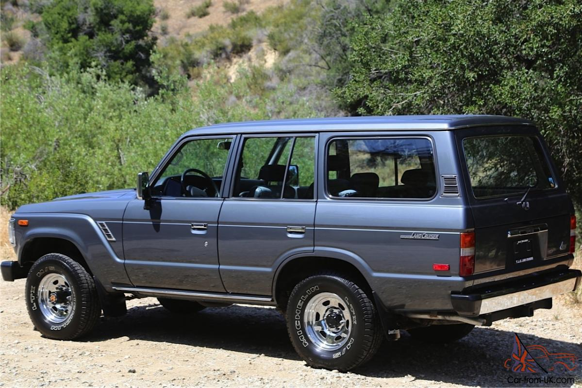 As New 1988 Toyota Land Cruiser Fj62 Automatic 73k Miles