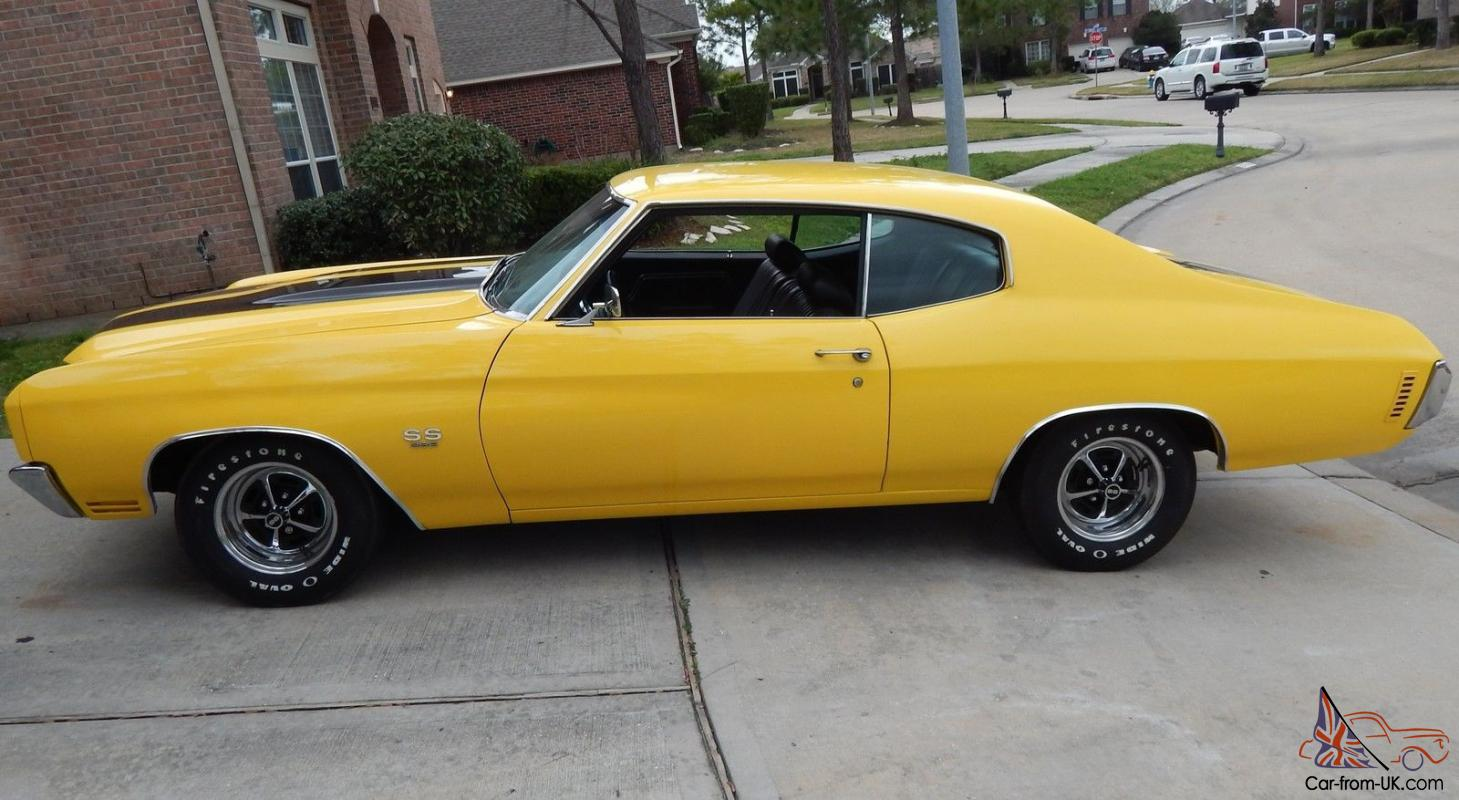 For sale is a very solid SS 396 Chevelle clone Has a nice rebuilt