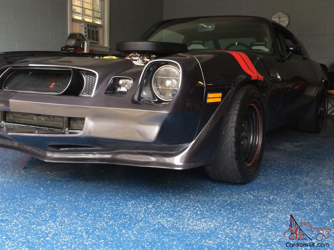 1978 Z28 4 Speed Camaro Road Race Pro Touring