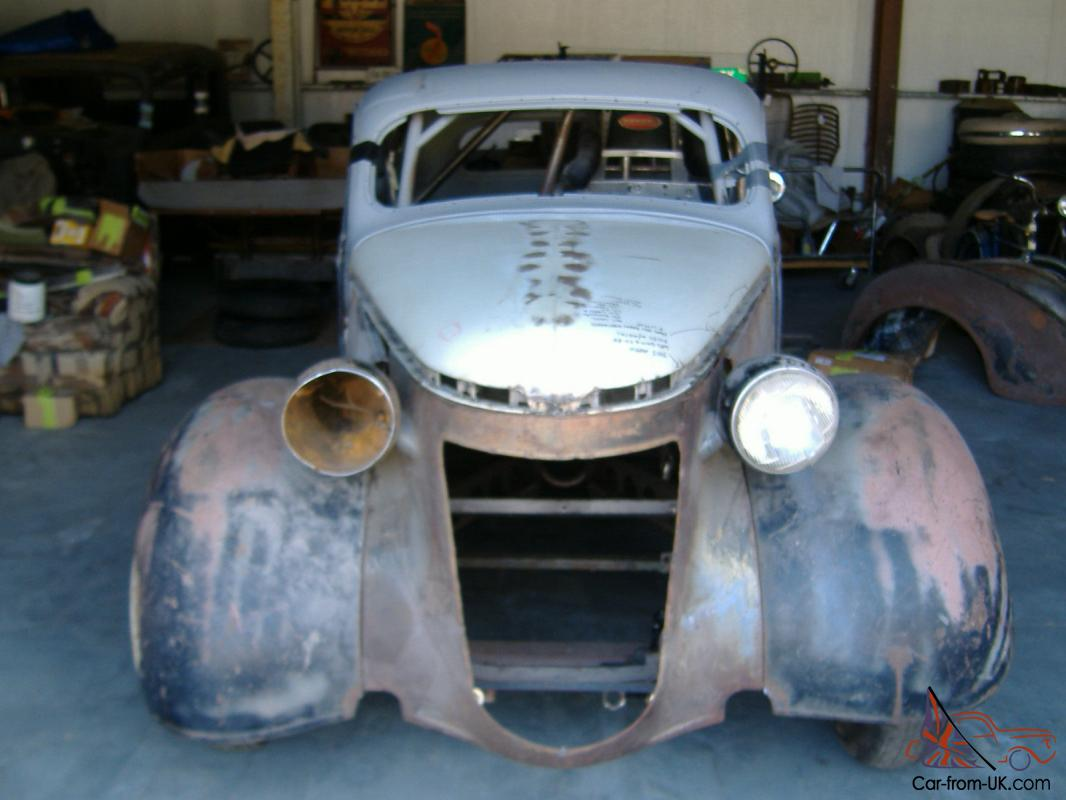1937 Chrysler Royal Coupe Project Car Street Rod Race