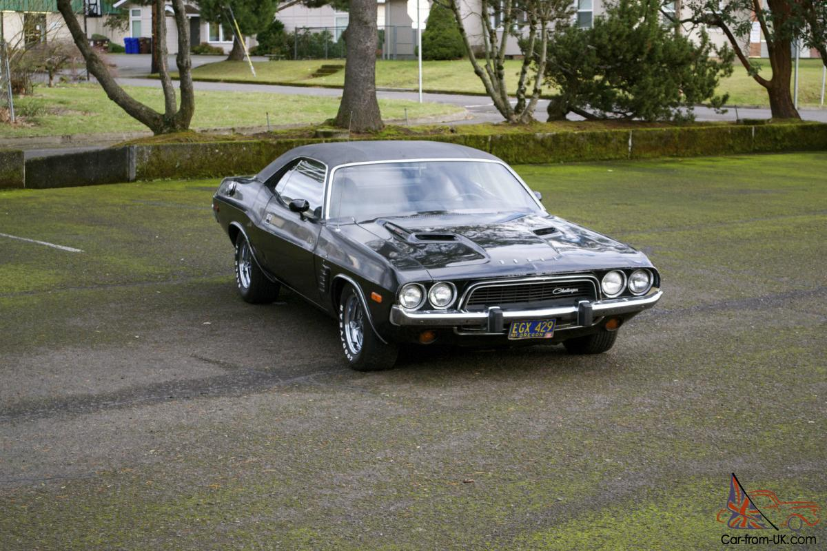 Dodge Challenger Cuda Package >> 1973 Dodge Challenger Rallye Package 440 4speed Mopar not Barracuda Cuda