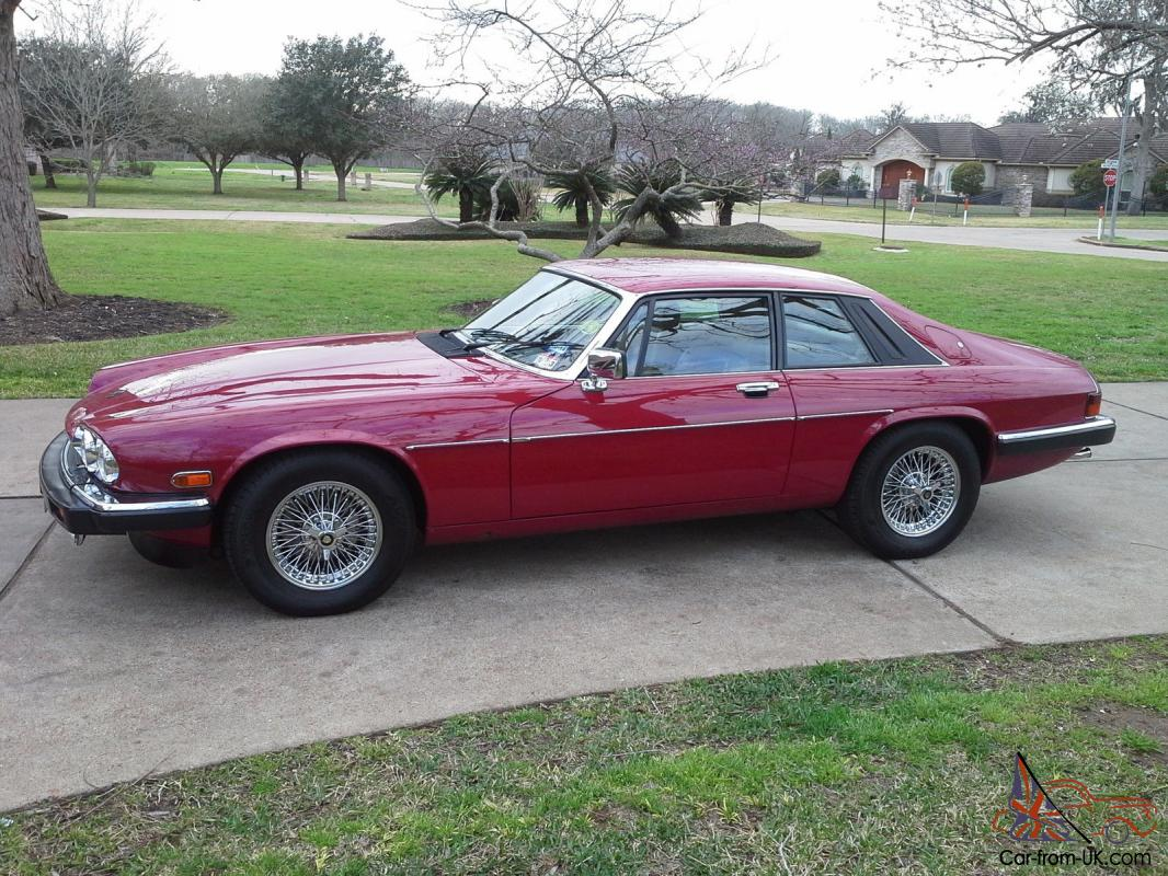 1988 jaguar xjs v12 coupe in red excellent condition. Black Bedroom Furniture Sets. Home Design Ideas