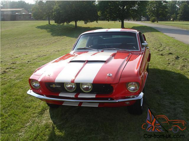 1967 Shelby GT350 Recreation Clone Mustang Fastback Cobra Photo