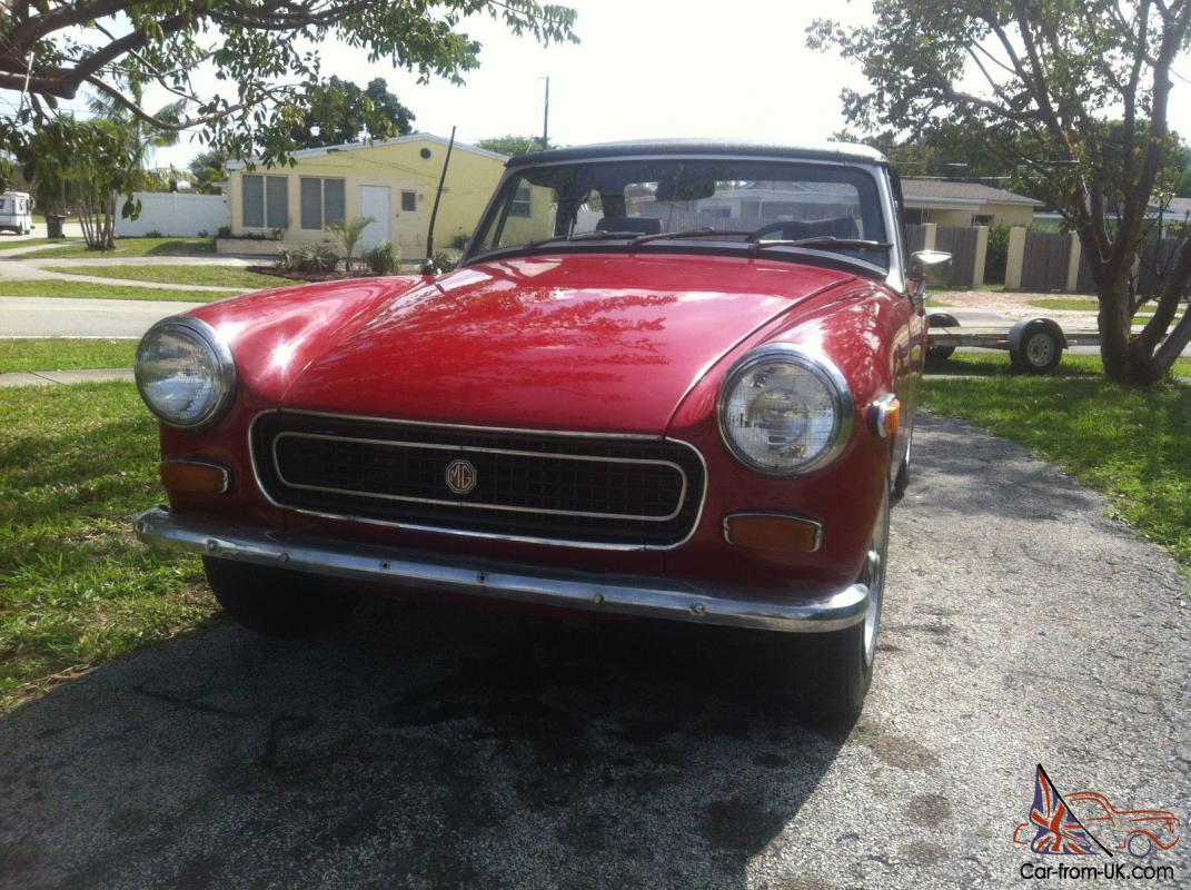 Price for 1974 mg midget ist