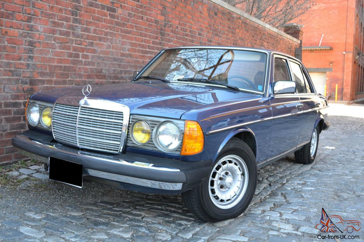 1985 mercedes benz 300d turbo diesel local 1 owner w 53k for Mercedes benz diesel engines for sale