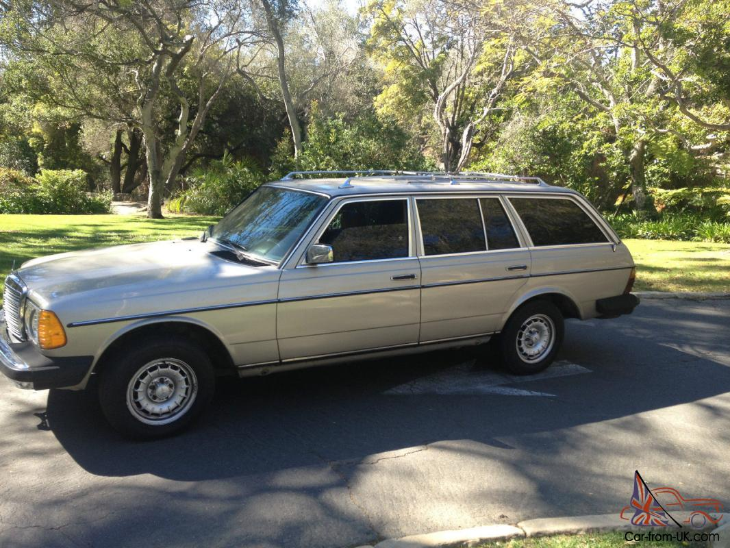 1985 mercdes 300 d turbo diesel wagon for Mercedes benz diesel wagon