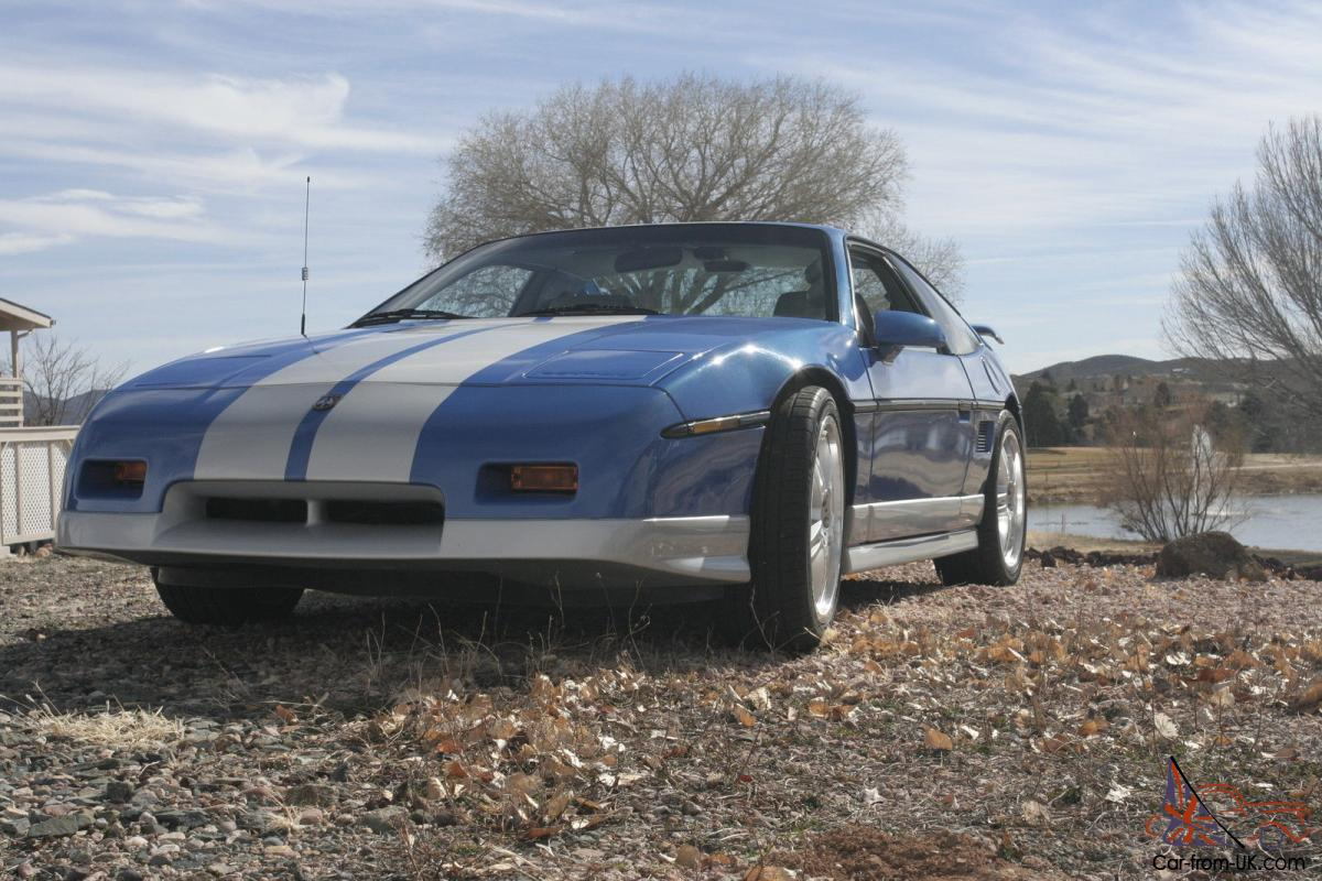 Professionally Built Highly Modified 1987 Pontiac Fiero Gt In Power Steering Great Condition