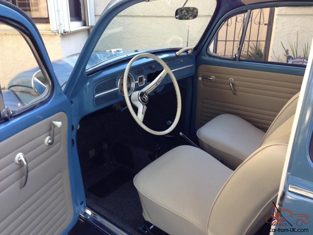 classic 1966 volkswagen beetle restored. Black Bedroom Furniture Sets. Home Design Ideas