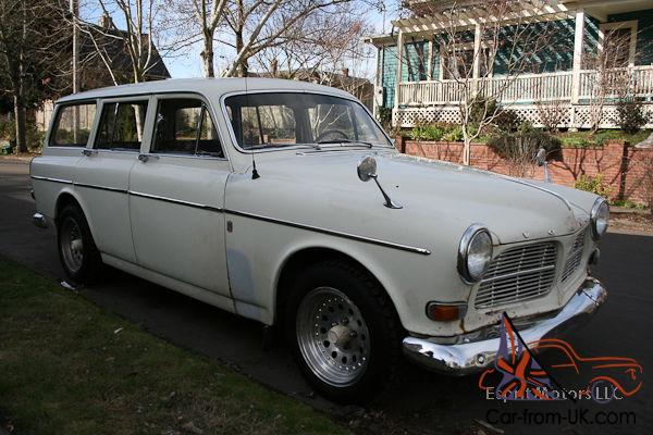 1966 volvo 122s amazon wagon 122 white running. Black Bedroom Furniture Sets. Home Design Ideas