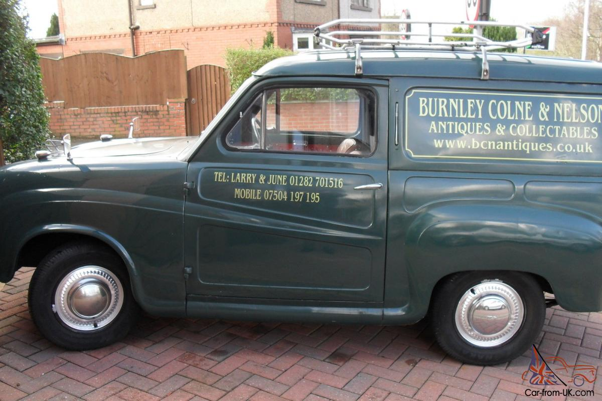 austin a35 van 1958 ss exhaust taxed 03 15 good runner. Black Bedroom Furniture Sets. Home Design Ideas