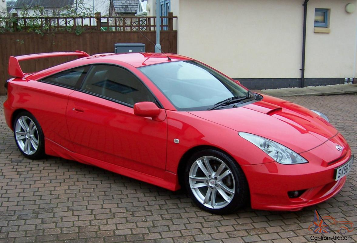 Toyota Celica Gt 190 Limited Edition 6 Speed Chilli Red Aero Kit