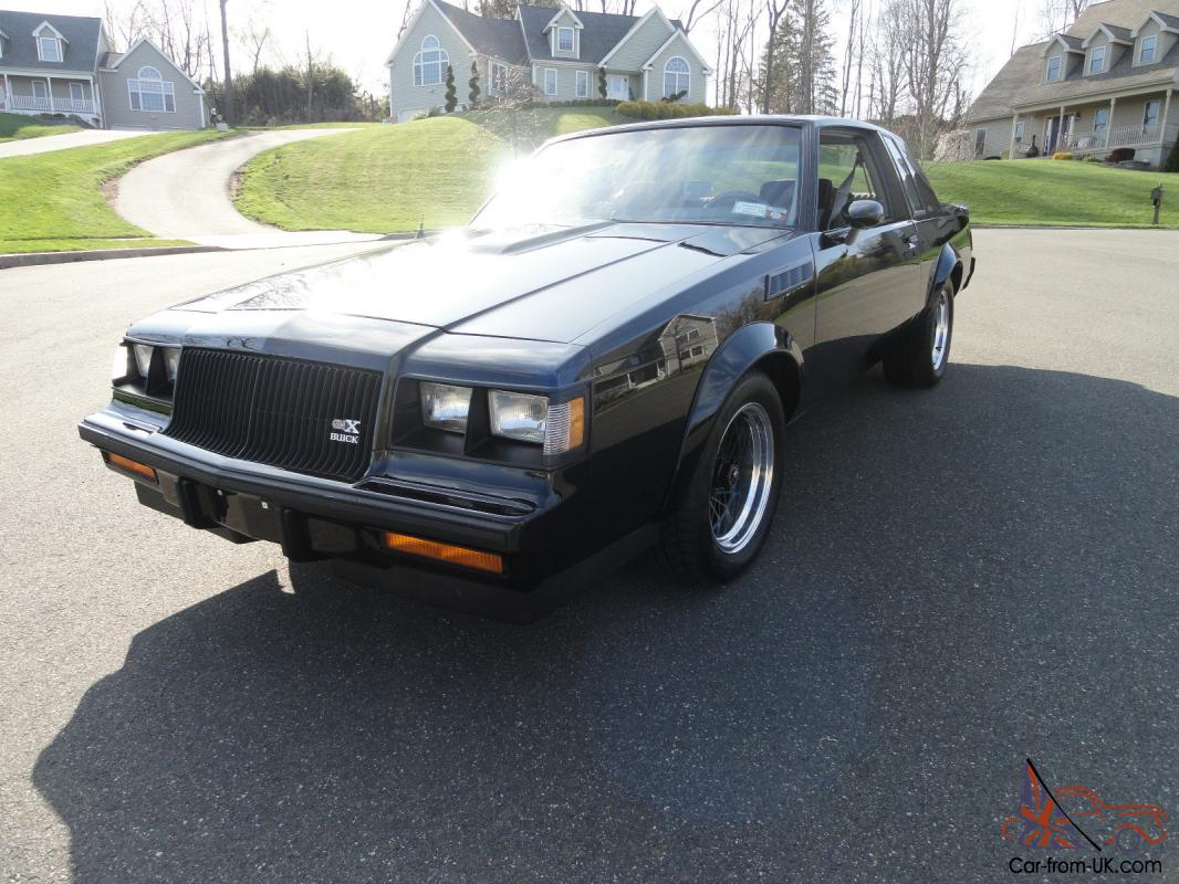 1986 buick grand national gnx clone super clean. Black Bedroom Furniture Sets. Home Design Ideas