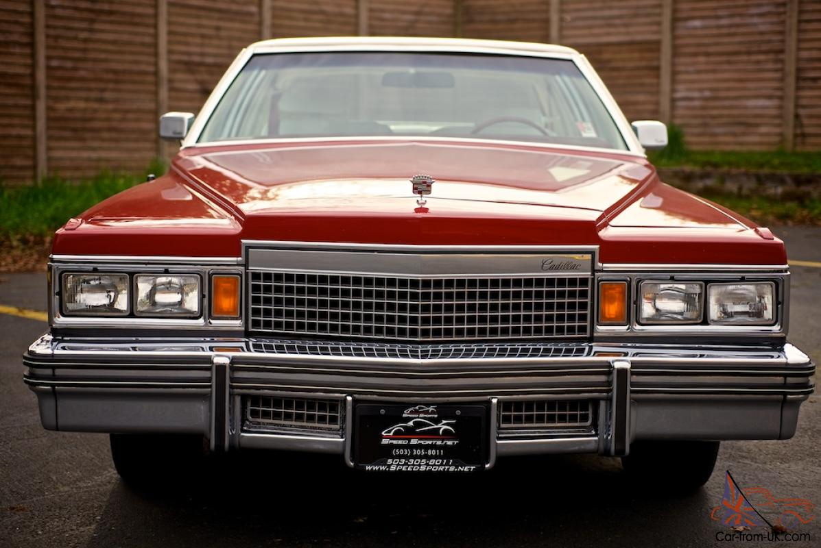 1979 Cadillac Coupe Deville One Owner Low Miles All