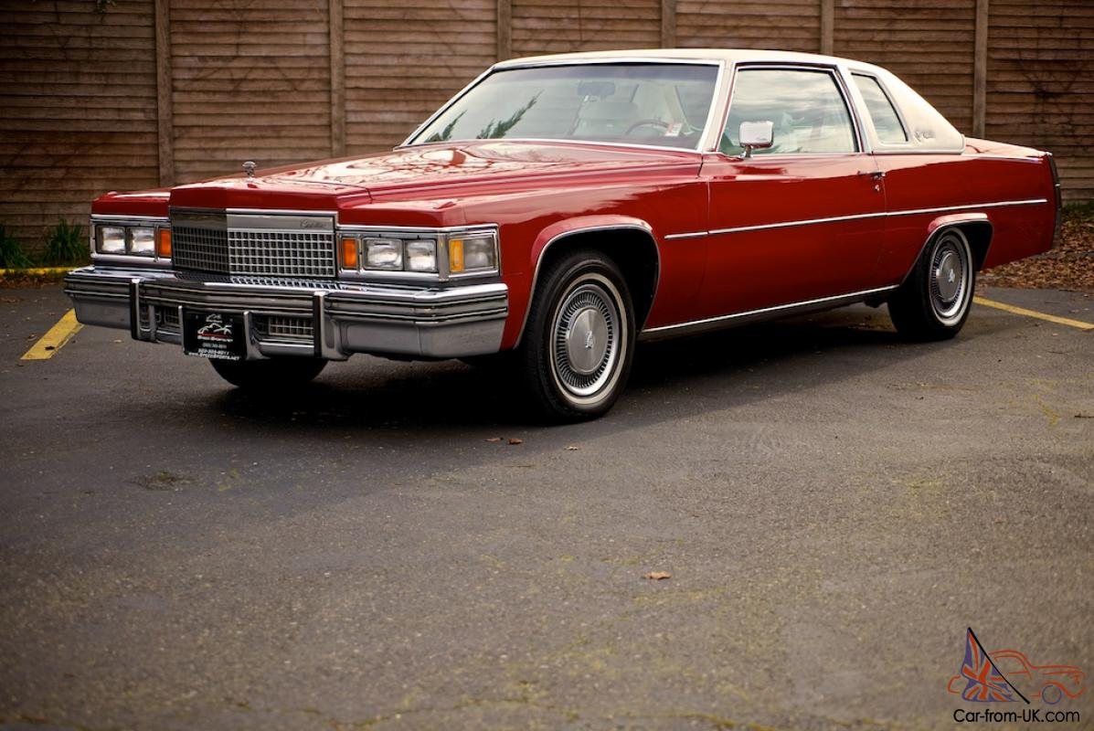 1979 cadillac coupe deville one owner low miles all original video no. Cars Review. Best American Auto & Cars Review
