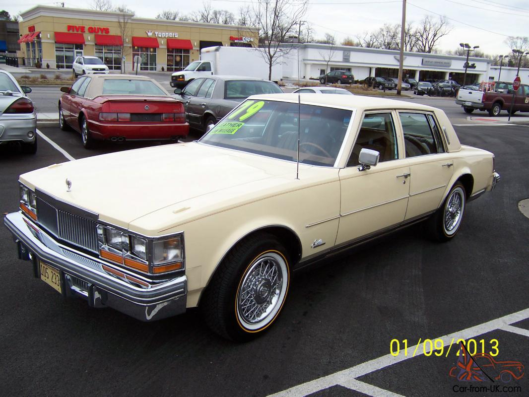 1979 Cadillac Seville 4 Door V8 Automatic Spotless Clean Nice Clic
