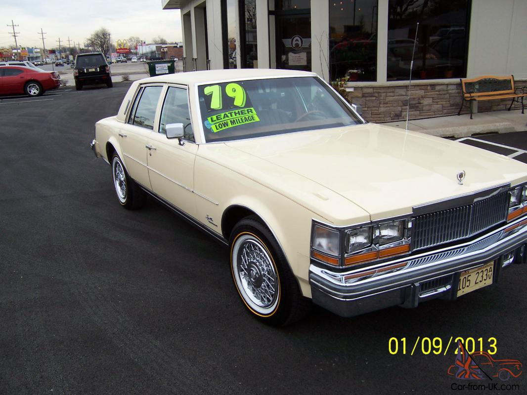 1979 Cadillac Seville 4 Door V8 Automatic Spotless Clean