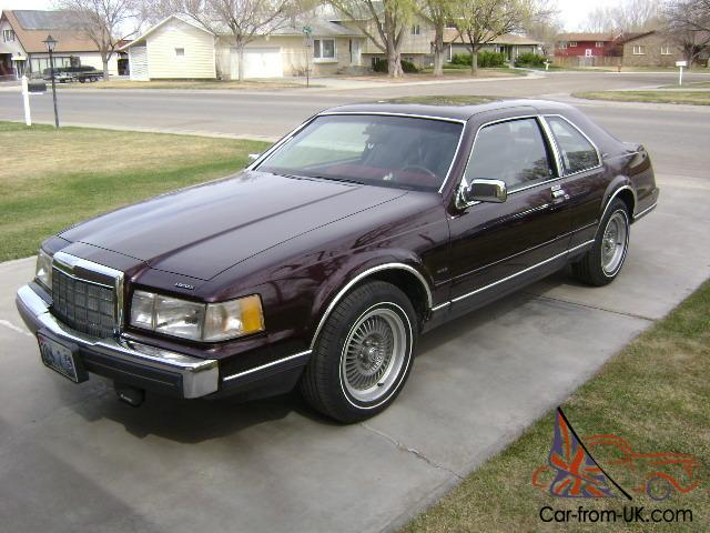 1988 lincoln mark vii lsc immaculate 2 owner full history. Black Bedroom Furniture Sets. Home Design Ideas