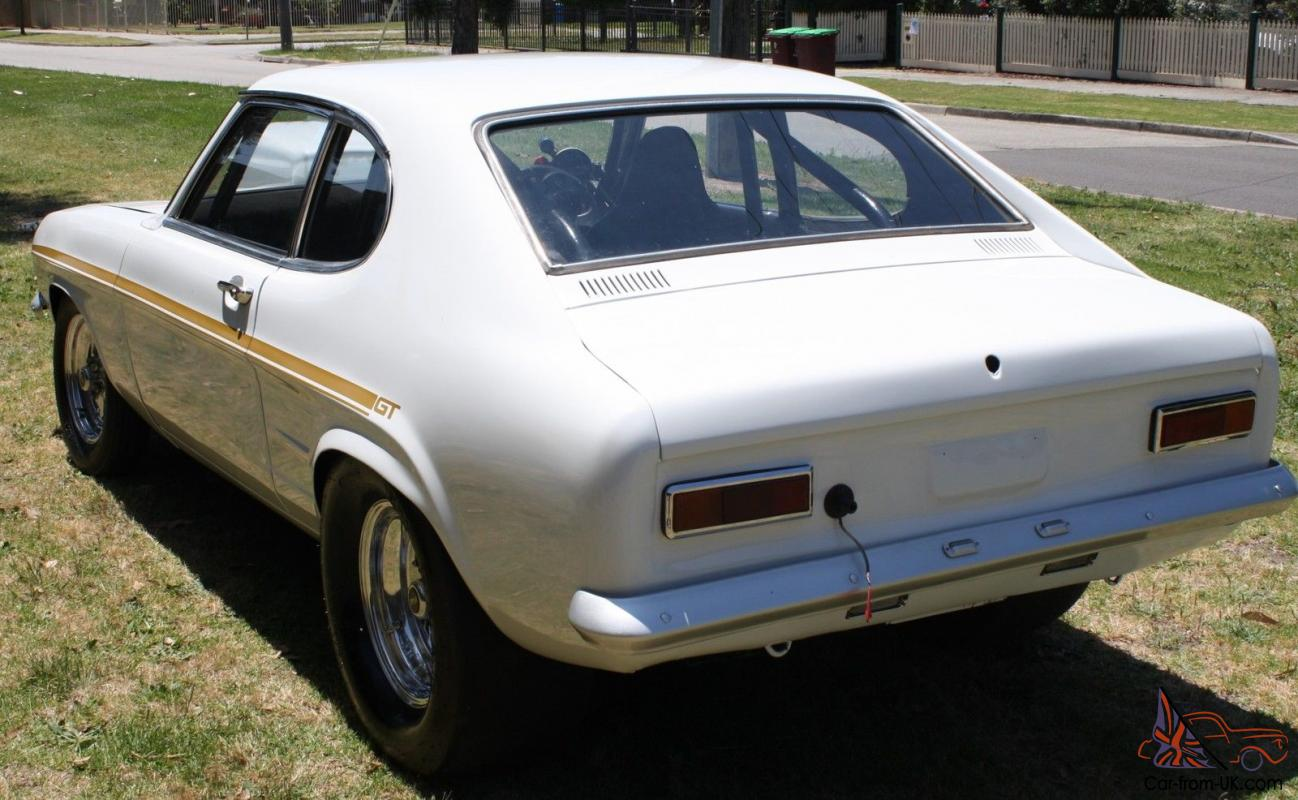 1969 Ford Capri Drag CAR Suit Super Sedan Modified Street NO Engine ...