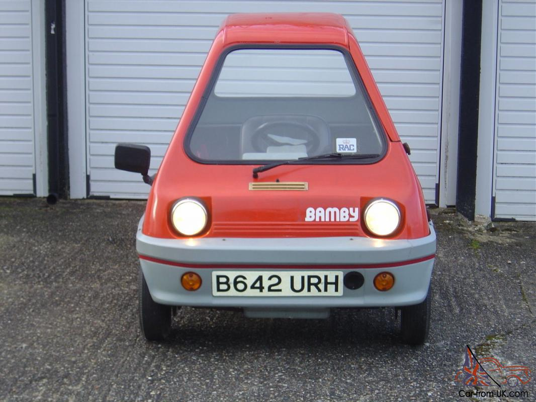 50cc Very Rare Car only approx 50 produced in 1983 - 1984 microcar