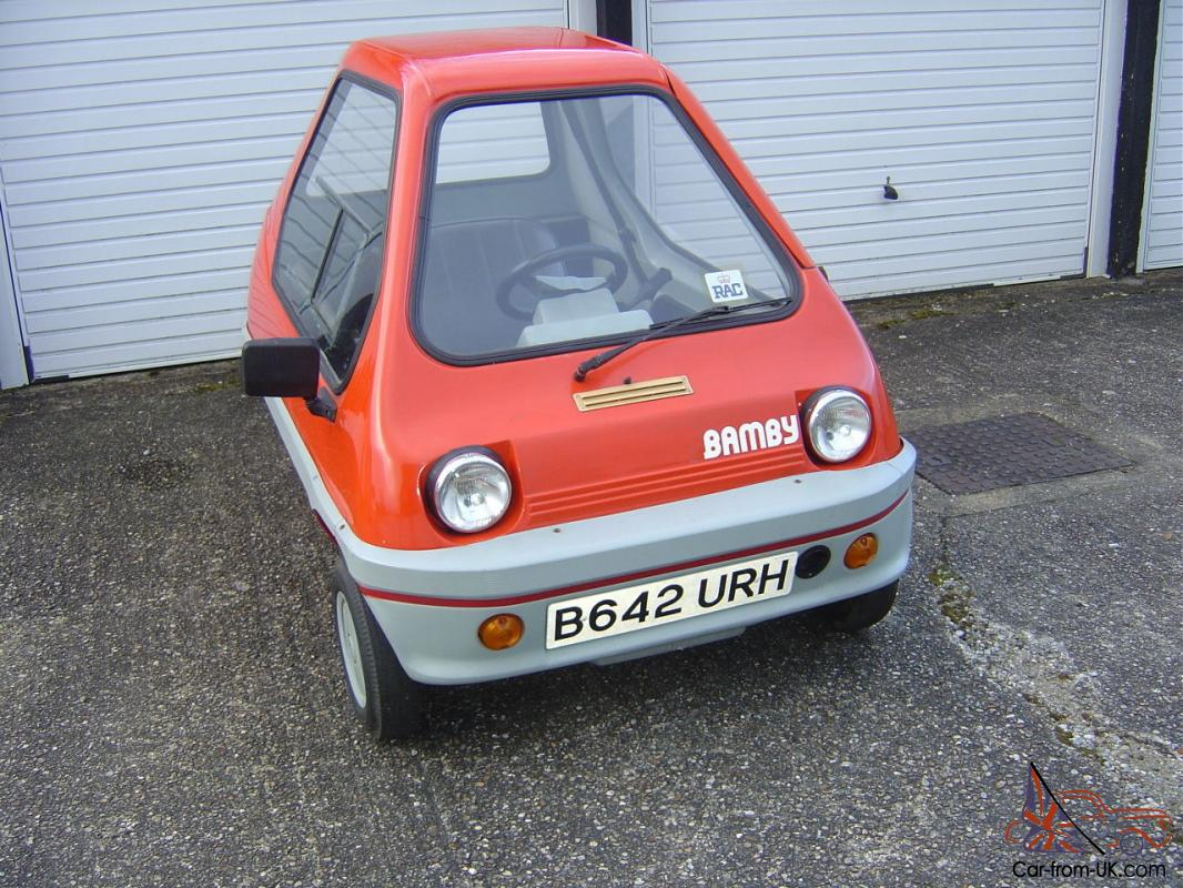 bamby 50cc very rare car only approx 50 produced in 1983 1984 microcar. Black Bedroom Furniture Sets. Home Design Ideas