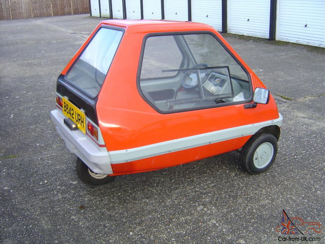 Bamby 50cc Very Rare Car only approx 50 produced in 1983 - 1984 microcar