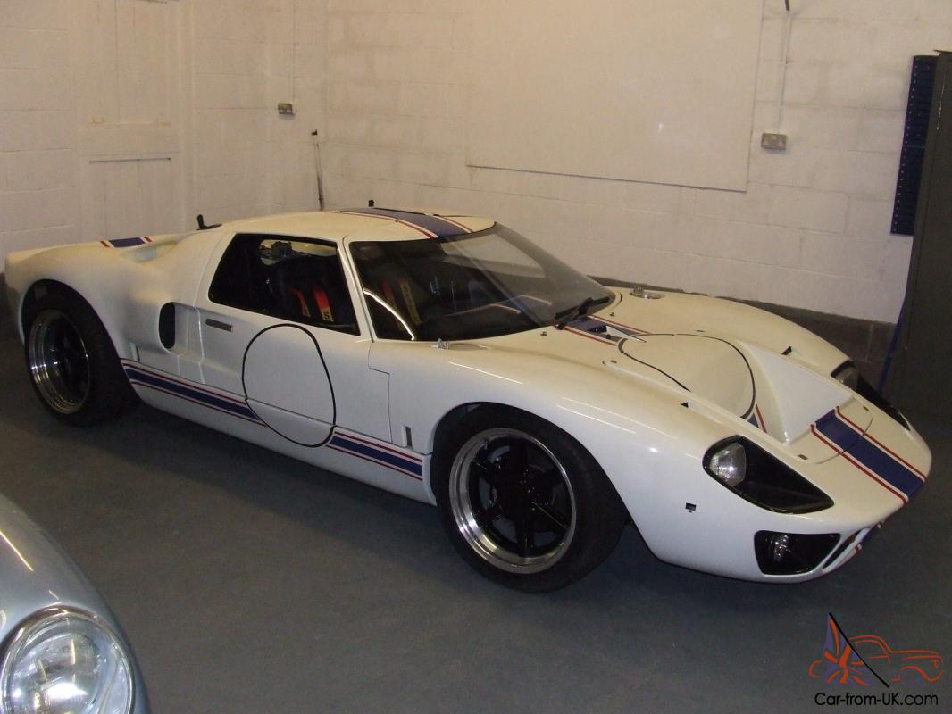 Ford GT40 Kit Car Project. Nearly finished. MDA
