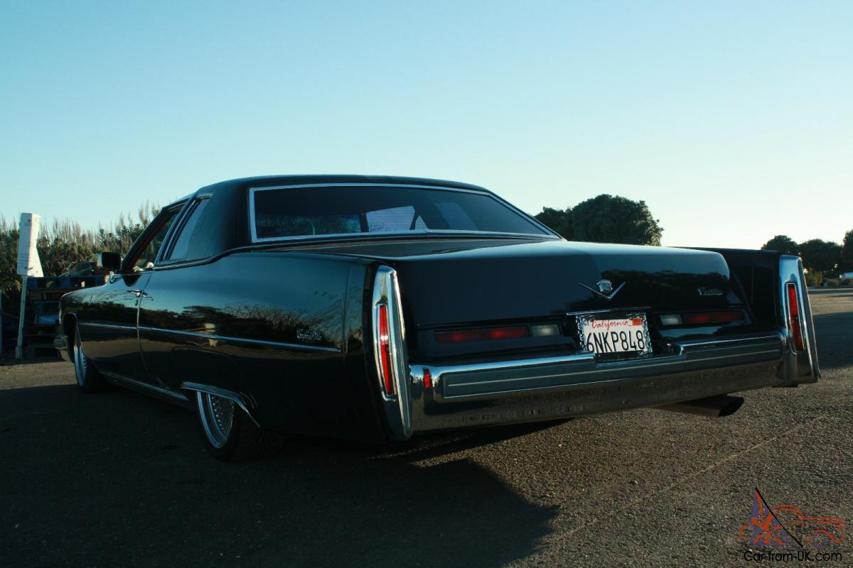 1975 Cadillac Deville Lowrider Airbags Air Ride
